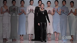 China Fashion Week SS17 Snow Lotus