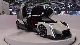 Geneva Motor Show Dendrobium Car